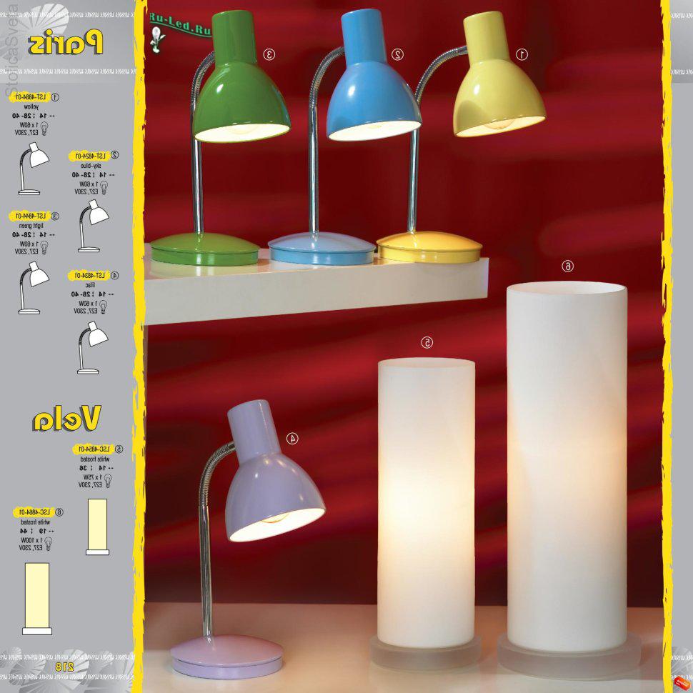 Настольные лампы детские