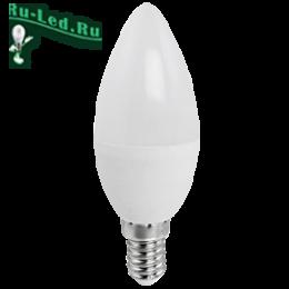 где можно купить светодиодные лампы высокого качества и по доступной цене Ecola candle LED Premium 9,0W 220V E14 6000K свеча (композит) 100x37