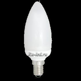 C4SD11ECC лампы - свечи ecola candle 11w eic/m 220v e14 6400k свеча 112x38 увв