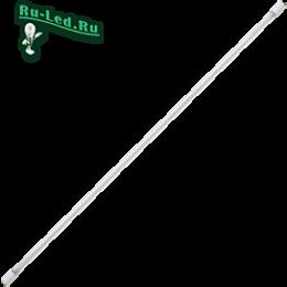 светодиодные лампы линейные t8 способны наполнить светом ваш дом, офис, учебные аудитории, магазины и любые другие заведения Ecola T8 Premium G13 LED 21,0W 220V 6500K с поворотными цоколями (прозрачное стекло) 1213x26 (упак.инд.цв./8/24)