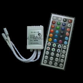 CRL144ESB rgb контроллеры ecola led strip rgb ir controller 144w 12v 12a
