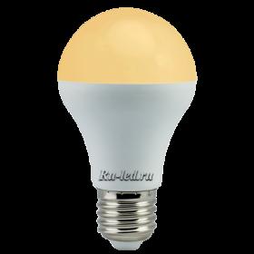лампа светодиодная led купить для фантазии при организации эффектного освещения в домах, офисах и коммерческих помещениях Ecola classic LED Premium 9,3W A60 220-240V E27 золотистый (композит) 106x60