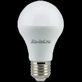 купить светодиодные лампы цена - малый расход электроэнергии, до десяти лет работы, нейтральное естественное белое излучение Ecola Light classic LED 11,5W A60 220V E27 4000K (композит) 106x60