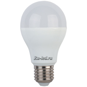 Лампа светодиодная led 10вт e27  с любыми  люстрами и светильниками Ecola classic LED 10,2W A60 220-240V E27 4000K (композит) 110x60