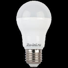 лампочки светодиодные е27 предоставляют массу возможностей для создания полноценного освещения в любом помещении Ecola classic LED 8,2W A55 220-240V E27 4000K (композит) 102x57