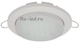 Точечный светодиодный светильник потолка купить Ecola GX53 DGX5315 Встраиваемый Легкий Белый (светильник) 18x100