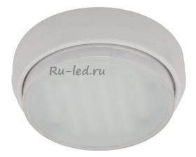Купить круглый потолочный светильник Ecola GX53 DGX5318 Накладной Легкий Белый (светильник) 18x88