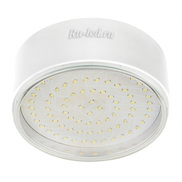 Офисные накладные светильники отлично справляются с задачей создания качественного потока света. Ecola GX70-N50 Светильник накладной легкий Белый 42x120