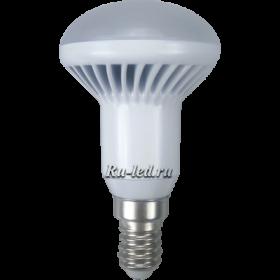 G4BD70ELB лампы - рефлекторы (груша) ecola reflector r50   led  7,0w 220v e14 6500k (ребристый алюм. радиатор) 85x50