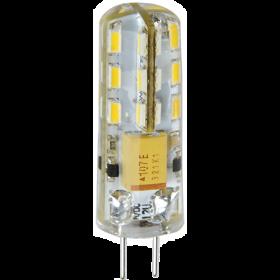 лампа цоколь g4 идеально подойдет для многих дизайнерских люстр Ecola G4 LED 3,0W Corn Micro 220V 4200K 320° 38x11