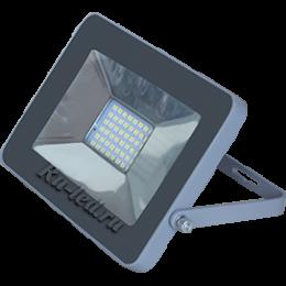 Прожектор 10 W Ecola Projector LED 10,0W 220V 2800K IP65 Светодиодный Прожектор тонкий Серебристо-серый 115x80x14