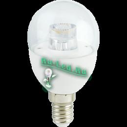 лампы цена москва можно подобрать различный источник света, который придется вам по вкусу Ecola globe LED Premium 7,0W G45 220V E14 4000K прозрачный шар с линзой (композит) 80x45
