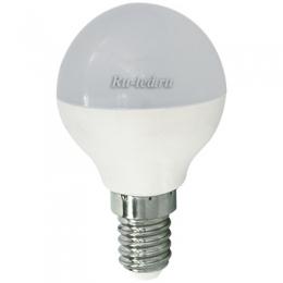 лед лампа цена полностью окупается за год эксплуатации Ecola globe LED 5,4W G45 220V E14 2700K шар (композит) 77x45