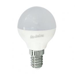 Светодиодная лампа led e14 220v это мгновенная работа при включении Ecola globe LED Premium 8,0W G45 220V E14 4000K шар (композит) 77x45