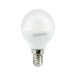 led лампы E14 для колоссальной экономии средств за счет минимального энергопотребления Ecola globe LED Premium 7,0W G45 220V E14 2700K шар (композит) 77x45