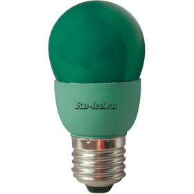 K7CG09ECB лампы - шары ecola globe color 9w 220v e27 green зеленый 91x46