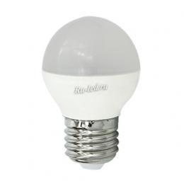светодиодные лампы 2700к позволят создать в любом помещении достаточно яркое освещение и уютную, комфортную для работы и отдыха обстановку Ecola globe LED 8,0W G45 220V E27 2700K шар (композит) 78x45