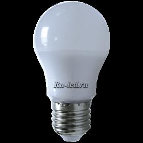 лампы светодиодные с цоколем цена немаловажный момент, но главное стабильное качество освещения Ecola classic LED Premium 7,0W A50 220V E27 4000K 360° (композит) 92x50