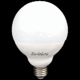 Большие светодиодные лампы купить и получить возможность снизить свои затраты Ecola globe LED Premium 15,5W G95 220V E27 2700K шар (композит) 135x95