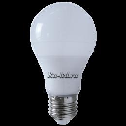 светодиодная лампа шар подходит для оборудования офисных помещений, конференц-залов и аудиторий в учебных заведениях Ecola classic LED Premium 9,2W A60 220V E27 6500K 360° (композит) 106x60