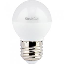 лампа led шар по невысокой цене - отличный выбор оборудования для освещения Ecola globe LED Premium 7,0W G45 220V E27 2700K шар (композит) 75x45