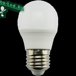 Ecola globe   LED Premium  9,0W G45  220V E27 2700K шар (композит) 82x45