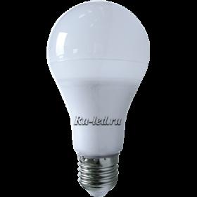 белые светодиодные лампы существенно экономят электроэнергию и практически не обладают вредной для человека пульсацией света Ecola classic LED Premium 14,0W A65 220-240V E27 4000K 360° (композит) 125x65