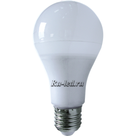 лампа света светодиодная купить и подобный экземпляр будет светить гораздо мощнее, дольше и бережливее Ecola classic LED Premium 14,0W A65 220-240V E27 6500K 360° (композит) 125x65