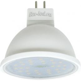 светодиодная лампа mr16 7w по цене производителя недорого Ecola MR16 LED 7,0W 220V GU5.3 2800K прозрачное стекло (композит) 48x50