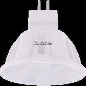 лампы светодиодные gu5 3 led Ecola Light MR16 LED 4,0W 220V GU5.3 M2 2800K прозрачное стекло 46x50