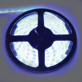 P5LB05ESB светодиодные ленты влагозащищенные ecola led strip pro 4,8w/m 12v ip65 8mm 60led/m blue