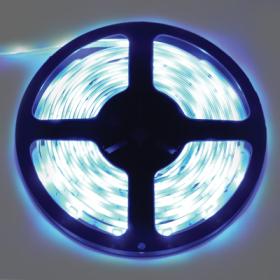 P5LB07ESB светодиодные ленты влагозащищенные ecola led strip pro 7,2w/m 12v ip65 10mm 30led/m blue