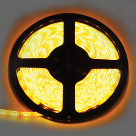 P5LY05ESB светодиодные ленты влагозащищенные ecola led strip pro 4,8w/m 12v ip65 8mm 60led/m yellow