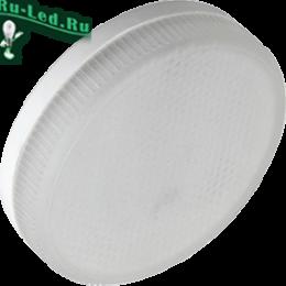 светодиодные лампы gx53 6w для установки в точечные встраиваемые светильники Ecola Light GX53 LED 6,0W Tablet 220V 4200K 27x75 матовое стекло 30000h (1 из ч/б уп. по 10)