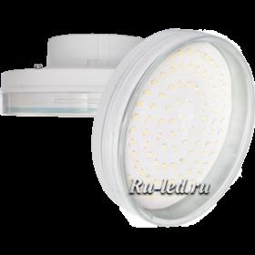 лампа светодиодная Ecola gx70 - это несколько месяцев бесперебойной работы даже при очень активном ее использовании Ecola GX70 LED 10.0W Tablet 220V 4200K прозрачное стекло 111х42