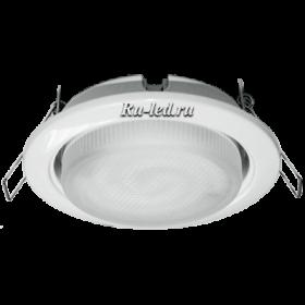 TWV511ECC комплект светильник + лампа gx53 ecola light gx53 h4 светильник белый встр.без рефл.с лампой gx53 11w 4100к 38x106