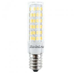 светодиодная лампа для холодильника е14 - одна из самых достойных и надежных Ecola T25 LED Micro 5,5W E14 2700K 340° кукуруза (для холодил., шв. машинки и т.д.) 62x17 mm