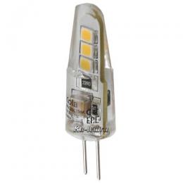 светодиодные лампы g4 220v купить - это идеальный вариант для организации подсветки, а также для установки в сложных дизайнерских светильниках Ecola Light G4 LED 1,5W Corn Micro 220V 2800K 35x10