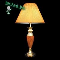 Настольная лампа 008A/1T RDM (янтарь) мал.(уп 10 шт)
