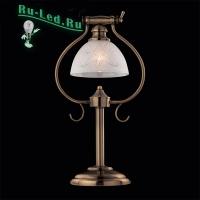 Настольная лампа 01000/1 античная бронза