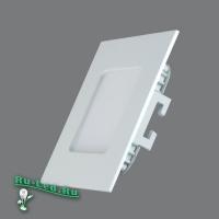102SQ-6W-3000K Cветильник квадратный LED, 6W