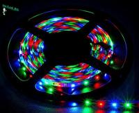 Ecola LED strip PRO  7,2W/m 12V IP20 10mm 30Led/m RGB разноцветная светодиодная лента на катушке 50м.
