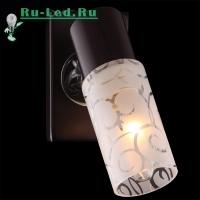 Настенный светильник 21130/1 хром/венге
