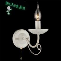 Настенный светильник 22404/1 белый с золотом
