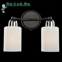 Настенный светильник 2607/2 хром/венге