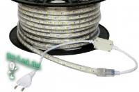 Ecola LED strip 220V STD  7,2W/m IP68 14x7 30Led/m 4200K 12Lm/LED 360Lm/m лента на катушке 100м.