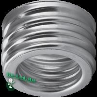 Ecola base Переходник с цоколя E40 на E27 упрощенный металлический (1 из уп. по  30)