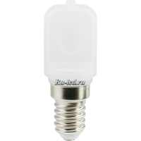 Ecola T25 LED Micro 3,0W E14 2700K капсульная 340° матовая (для холодил., шв. машинки и т.д.) 60x22 mm