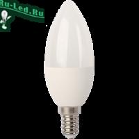 Ecola candle   LED  7,0W 220V E14 6000K свеча (композит) 105x37