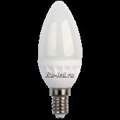 Ecola candle   LED  3,5W 220V E14 4000K свеча (керамика) 100x37